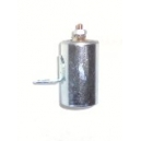 Condensateur Diamètre 18mm / Hauteur totale du corp 31mm / Hauteur de la patte 11mm.