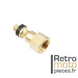 Raccord adaptateur pour grosse valve