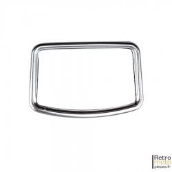 Entourage chromé de compteur + vitre + joint Motobécane AV88