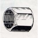 Ecrou laiton pour bicône