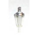 Filtre à essence démontable pour durite diamètre 4 à 8mm