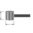 Câble (boule diam 8x8mm) Frein / Embrayage
