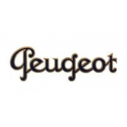Décalcomanie Peugeot (3 tailles)
