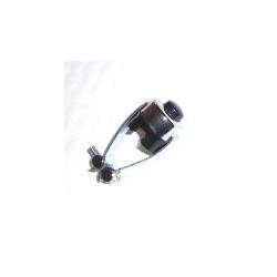 Interrupteur chromé Klaxon / coupure moteur (contacteur)