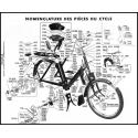 Partie cycle Solex 3300 et 3800